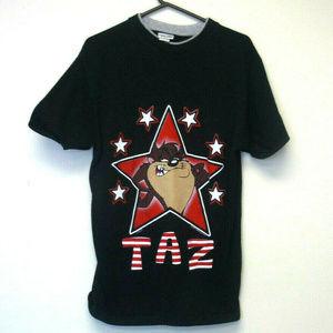 Vintage Looney Tunes Taz T Shirt Medium 1995
